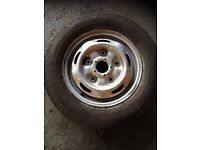 Ford transit wheel and tire