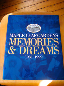 Toronto Maple Leafs Memories and Dreams Autographed Book
