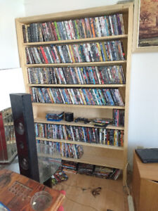approx 600 action DVDs