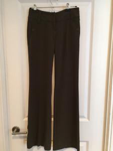 Black and Brown Dress Pants - Size XS