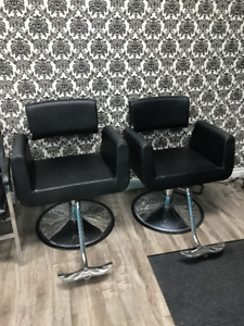 SALON 2 CHAIR SETUP