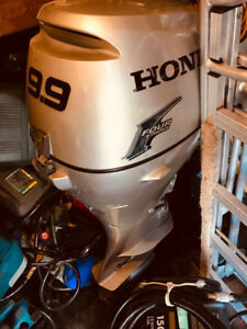 Honda 9.9hp Outboard Motor 4 Stroke Shortshaft Excellent