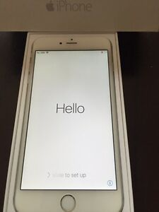 iPhone 6 Plus 16GB Silver, UNLOCKED, all accessories, mint