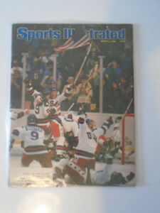 Sports Illustrated - Mar, 3, 1980 Miracle on Ice / USA Olympic H