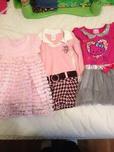 Three dresses size 3, hello kitty dress sold