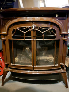 Vermount Casting Propane Fireplace Trade for snowmobile