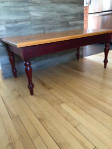 Ensemble de 3 tables basses en bois de Pin