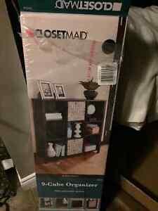 9 Cube Closet Maid Premium Bookshelf