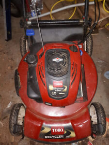 """Toro Personal Pace 22"""" 190cc 7.0ft lbs torque 3 in 1"""
