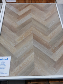 12mm brown herringbone laminate floor