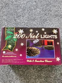 Christmas lights net 200