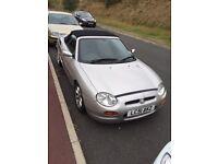 MGF convertible 2001 58k