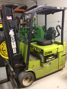 Fork Lift's and chargers