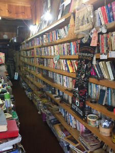 Second Hand Book Store Selling Complete Inventory