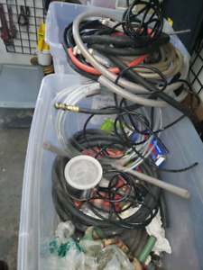Misc. hoses and connectors. $20