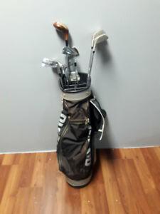 Golf Clubs. Mizuno bag. Northwestern Clubs.