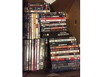 Job lot of DVDs ideal for car boot
