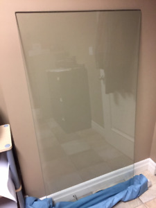 Table top tempered glass
