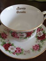 """Barrie"" Queen Anne cup and saucer"