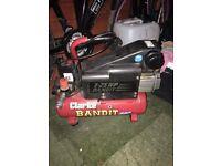 Clarke bandit air compressor