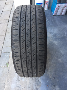 1 Summer Tire Continental 225/50/17  Very Good Cond