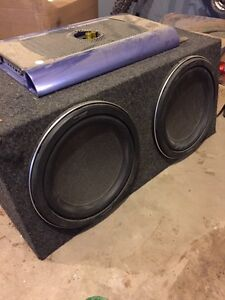 "2, 12"" kenwood subwoofers"