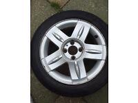 R15 alloy wheel 4 stud 185/55 optimo k406 tyre