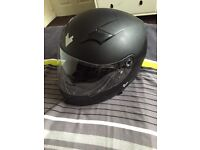 Helmet for motorbike