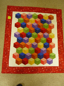 New Baby cube quilt