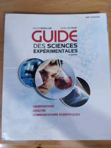 Guide des sciences expérimentales
