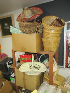 Baskets ..........Have many......... Best to come and view.