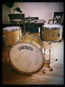 GRETSCH CUSTOM BROADKASTER KIT- WITH CENTER LUGS