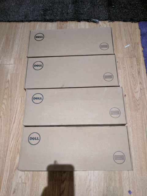 4x Brand new Dell KB813 keyboards with Smart Card Reader | in Uxbridge,  London | Gumtree