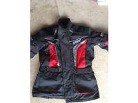 Gear motorbike textile jacket