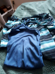 Clothing /foot massager/ Jeans new/ striped shirt new/ WANT GONE