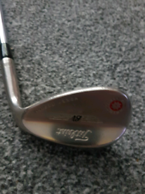 Titleist vokey 60 degree wedge.