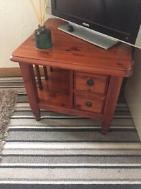 Small side table, solid wood