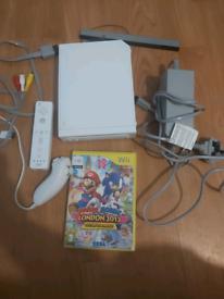 Nintendo wii + game