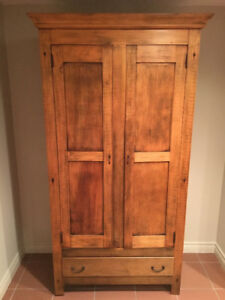 Antique Cupboard with Drawer