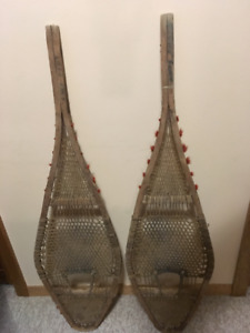 Vintage Snow Shoes, Great wall art for your cottage.