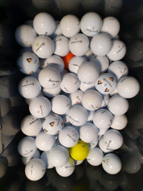 All golf ball models available