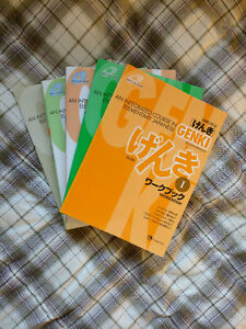 Complete Collection of Genki - Japanese Textbooks