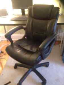 Leather office chair - very good condition