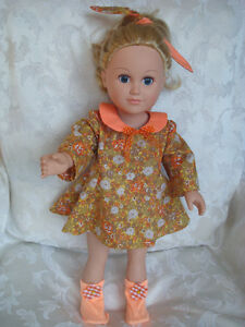 """18 """"doll, mix and match spring ensembles"""
