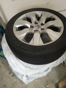 Honda Tires with Rims