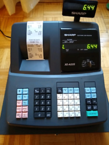 Sharp XE-A22S Electronic Cash Register for sale