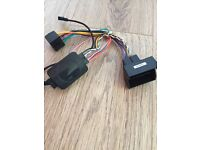 Peugeot 207 radio wiring harness and steering remote for Pioneer