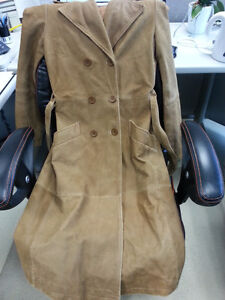 Beautiful real suede leather trench from Zara Gatineau Ottawa / Gatineau Area image 1