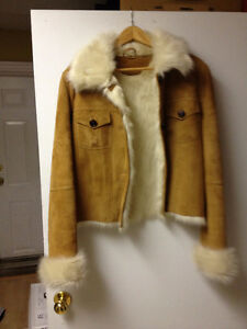 Brand new soft suede coat for sale