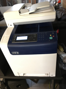 Xerox 6505n colour laser printer/scanner/copier/fax multi-func.
